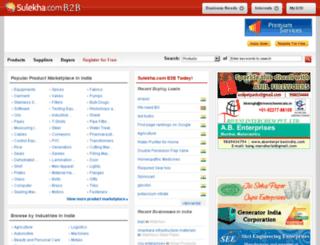 toolmasters.sulekhab2b.com screenshot