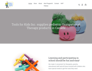 tools-for-kids.myshopify.com screenshot