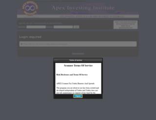 tools.apexinvesting.net screenshot