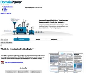 tools.domainpower.com screenshot