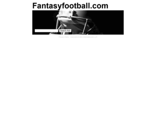 tools.fantasyfootball.com screenshot