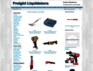 tools.freightliquidators.com screenshot