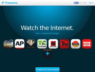 tools.frequency.com screenshot