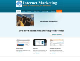 tools.internetmarketingza.com screenshot