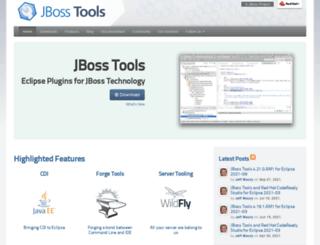 tools.jboss.org screenshot