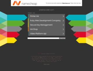 tools.prestacoder.com screenshot