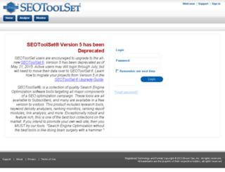 tools.seotoolset.com screenshot