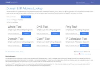 tools.teknikdata.com screenshot