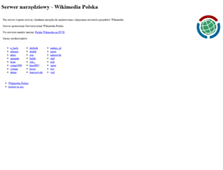 tools.wikimedia.pl screenshot