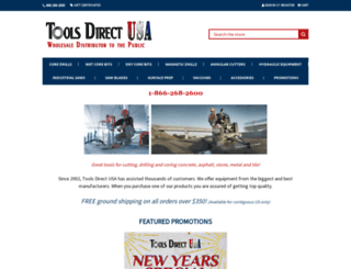 toolsdirectusa.com screenshot