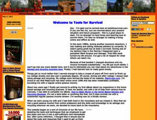 toolsforsurvival.com screenshot
