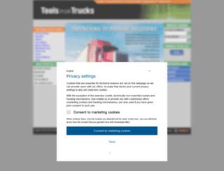 toolsfortrucks.service-solutions.com screenshot