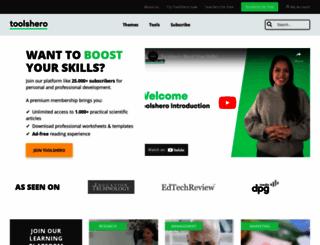 toolshero.com screenshot