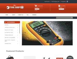 toolshop.co.za screenshot