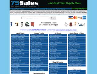 toolsupply.75sales.com screenshot