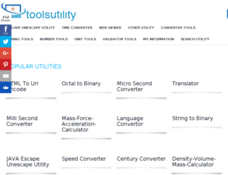 toolsutility.org screenshot