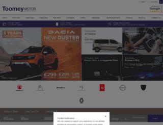 toomey.uk.com screenshot
