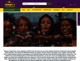toomeys-mardigras.com screenshot