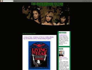 toomuchhorrorfiction.blogspot.com screenshot