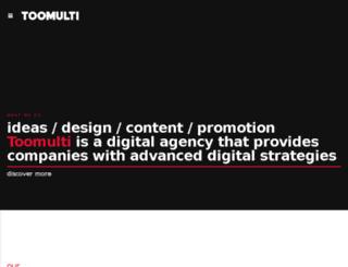toomultidigital.com screenshot