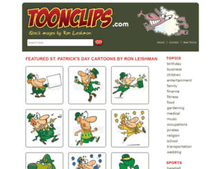 toonclips.com screenshot