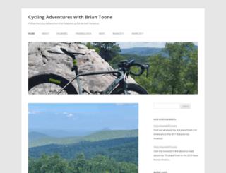 toonecycling.wordpress.com screenshot