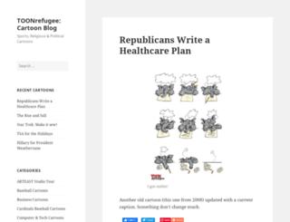 toonrefugee.com screenshot