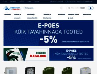 tooriistamarket.ee screenshot