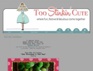 toostinkincute.blogspot.com screenshot