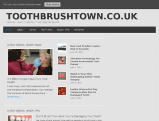 toothbrushtown.co.uk screenshot