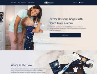 toothfairyinabox.com screenshot