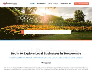 toowoomba.com.au screenshot