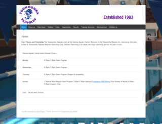 toowoombatadpoles.org.au screenshot
