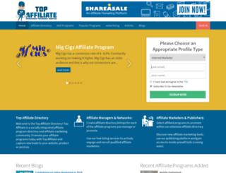 top-affiliate.com screenshot