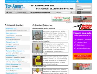 top-anunt.ro screenshot