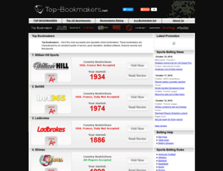 top-bookmakers.net screenshot
