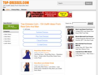 top-dresses.com screenshot