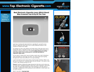 top-electronic-cigarette.com screenshot