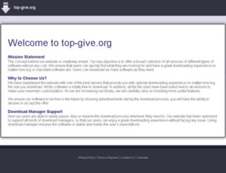 top-give.org screenshot