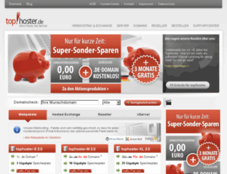 top-hoster.net screenshot