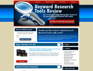 top-keywordspytool-reviews.com screenshot