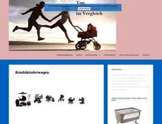 top-kombikinderwagen.de screenshot