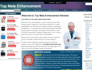 top-male-enhancement.org screenshot