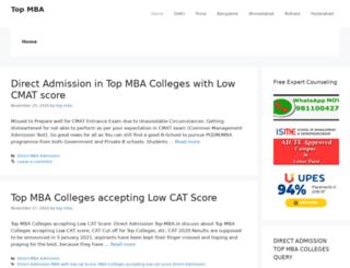 top-mba.in screenshot