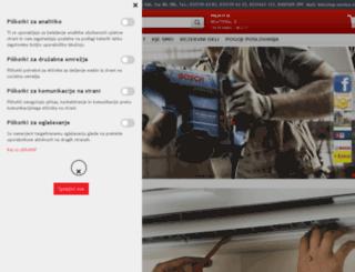 top-service.si screenshot