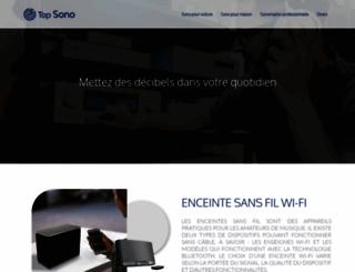top-sono.fr screenshot