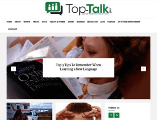 top-talk.net screenshot
