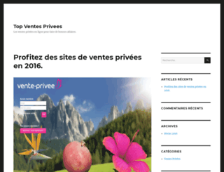 top-ventes-privees.fr screenshot