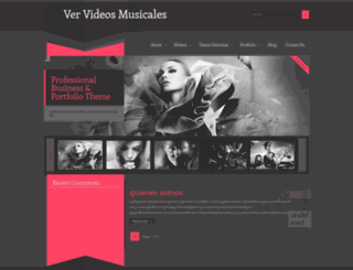 top-videosmusicales.blogspot.com screenshot