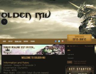 top.golden-mu.com screenshot